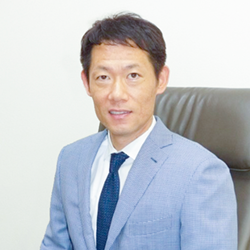 代表取締役 竹村哲洙